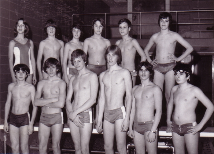 Middle School Swim Team - 1977