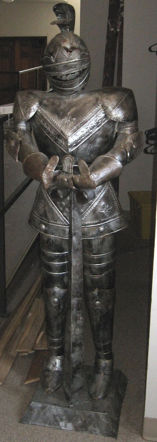 Medieval Suit of Armor For Sale Left Suit of Armor For Sale