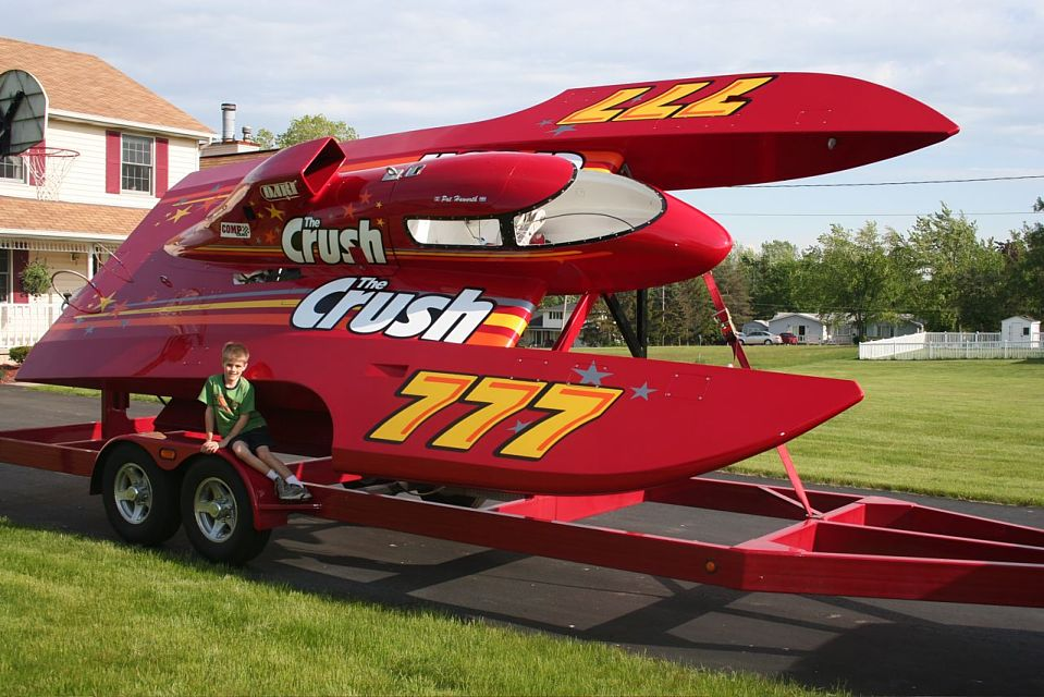 Hydro Racing Boat for Pinterest